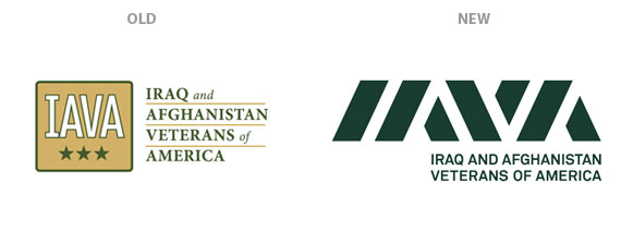 New and old IAVA logos