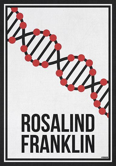 Rosalind Franklin poster