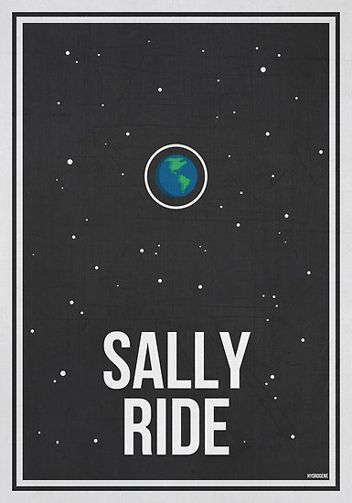 Sally Ride poster